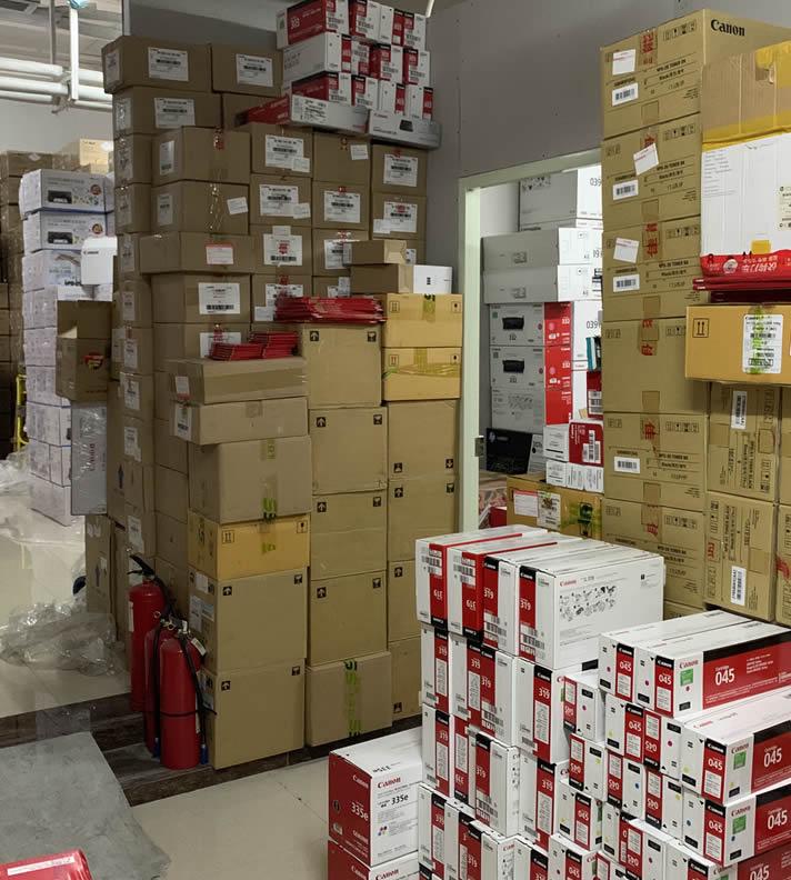 日常;准备装车发往西安115件硒鼓